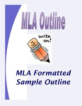 Mla outline for a research paper